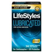 LifeStyles Lubricated Condoms-14's