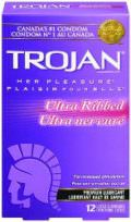 Trojan Her Pleasure Ultra Ribbed Condoms