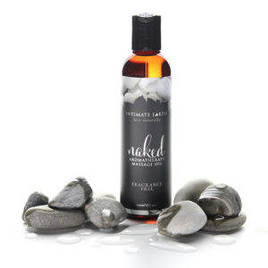 Intimate Earth Massage Oil Naked Fragrance Free