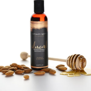 Intimate Earth Aromatherapy Massage Oil Honey-Almond