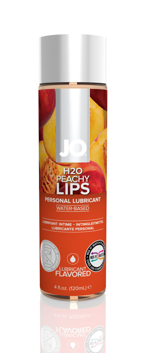 Jo H2O Flavored Lubricant Peachy Lips 4oz