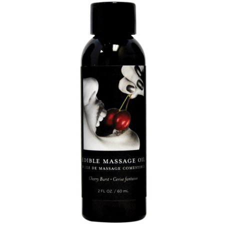 Purchase Earthly Body Massage Oil Cherry Burst in Canada