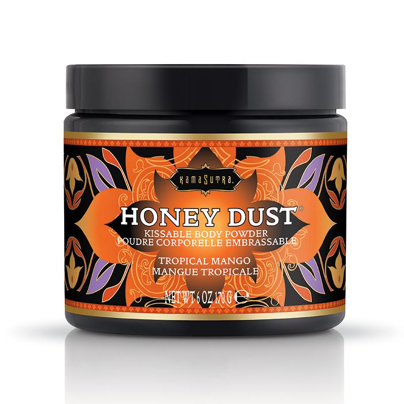 Kama Sutra Honey Dust-Tropical Mango-6oz