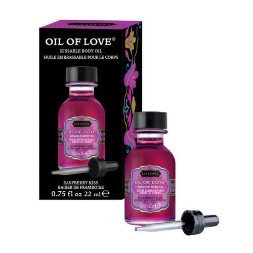 Kama Sutra ForePlay Oil-Raspberry Kiss-0.75 oz