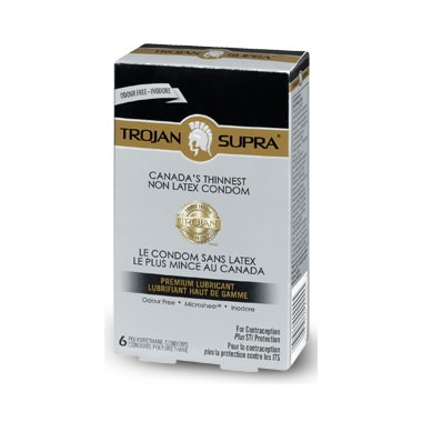 Purchase Trojan BareSkin Supra Non Latex Condoms