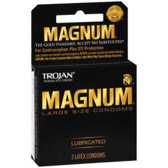 Buy Trojan Magnum 3 Pack in Canada