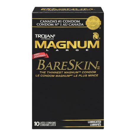 Buy Trojan Magnum Large BareSkin Condoms