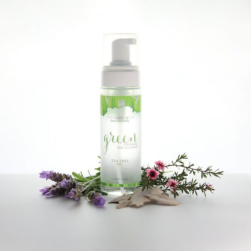 IntimateEarth Green Foaming Sex Toy Cleaner