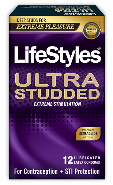 LifeStyles Ultra Studded Condoms