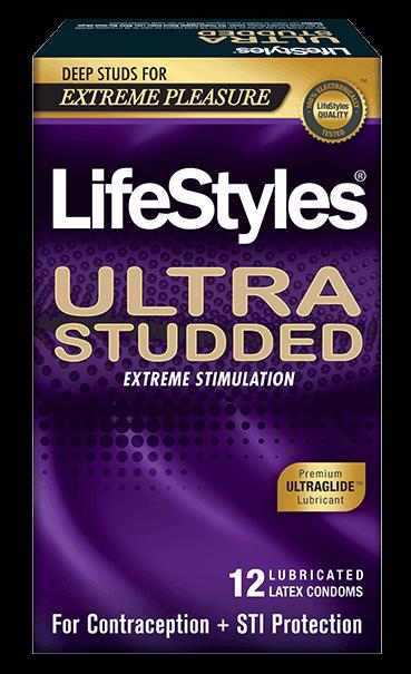 LifeStyles Ultra Studded Condoms