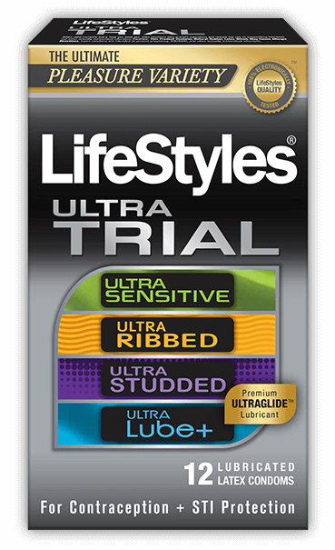 LifeStyles Ultra Trial condoms