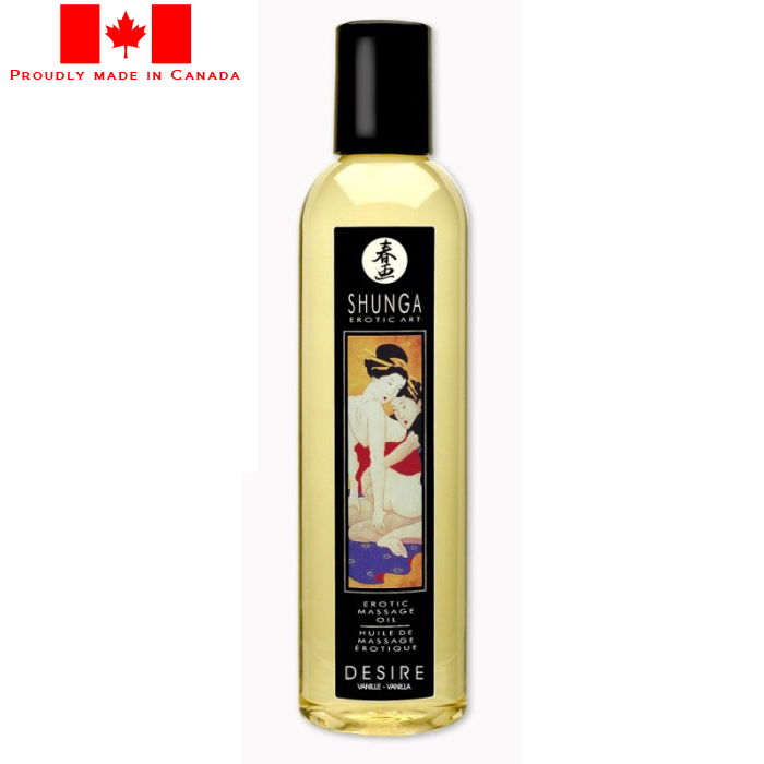 Shunga Erotic Massage Oil Vanilla Desire