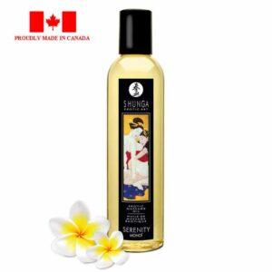 Shunga Exotic Massage Oil-Serenity Monoi