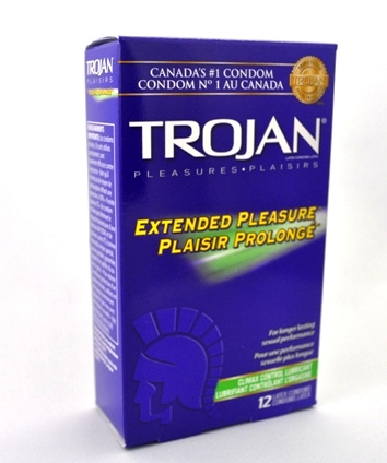 BuyTrojan Extended Pleasure Condoms