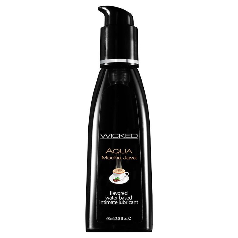 Wicked Sensual Care Lubricant-Mocha Java