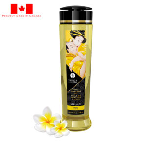 Shunga Erotic Massage Oil-Serenity Manoi-8 oz