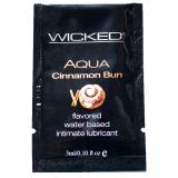 Wicked Sensual Care Flavoured Lubricant-Cinnamon Bun