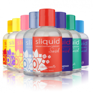 Sliquid Naturals Swirl Lubricants