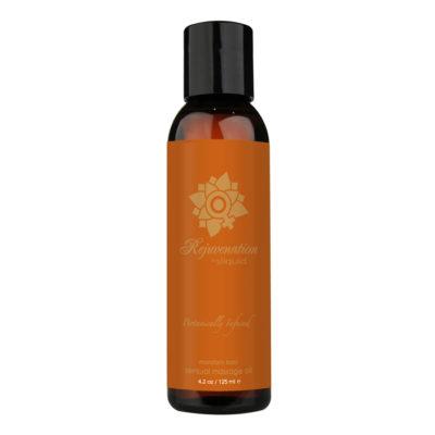 Sliquid Balance Organic Masage Oil-Mandarin-Basil 4.2oz