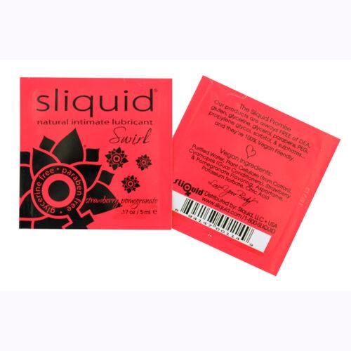 Sliquid Swirl Sample Pac-Strawberry Pomegranite-5ml