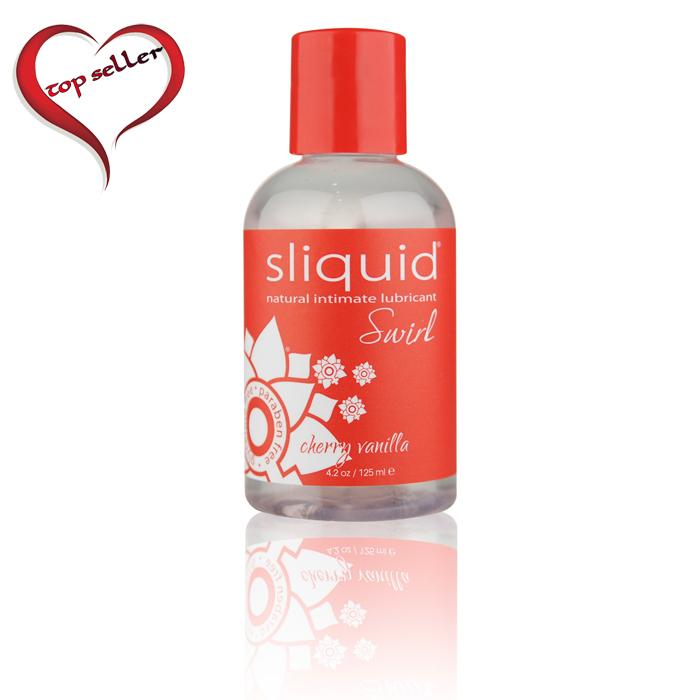 Sliquid Swirl Lubricant-Cherry Vanilla