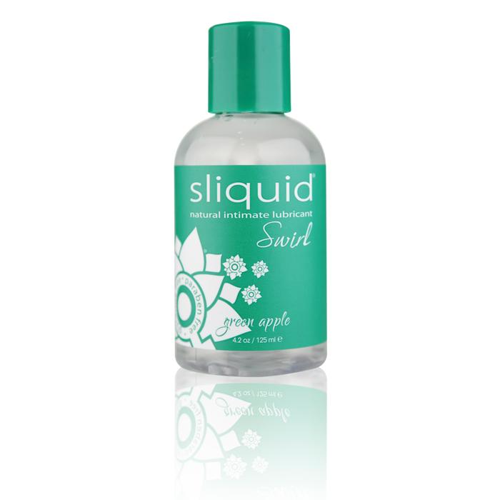Sliquid Swirl Lubricant-Green Apple