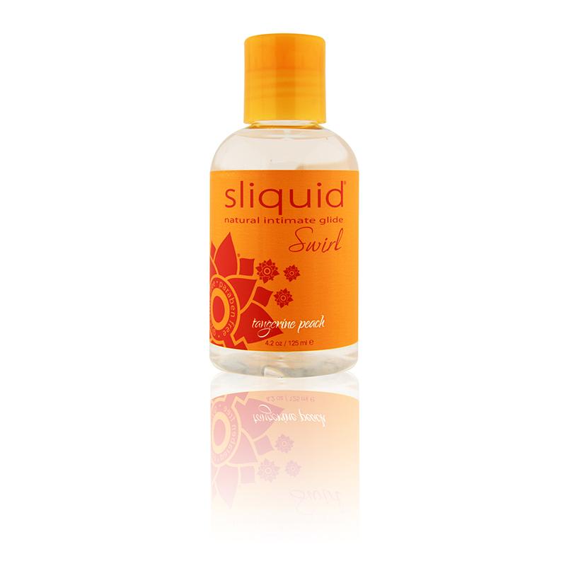 Sliquid Swirl Lubricant-Tangerine Peach-4.2 oz