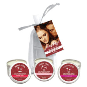 Earthly Body Valentines Day Massage Candles