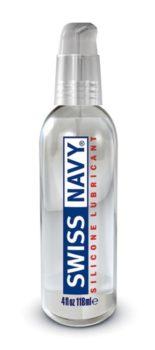 Swiss Navy Silicone Lubricant-4oz
