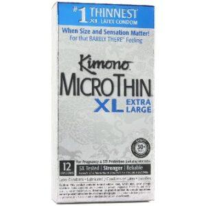 Kimono MicroThin XL Condoms