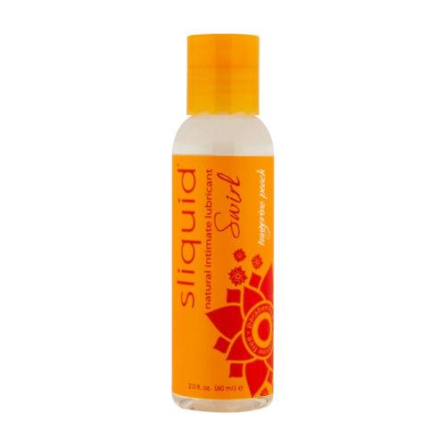 Sliquid Swirl Lubricant-Tangerine Peach-2oz
