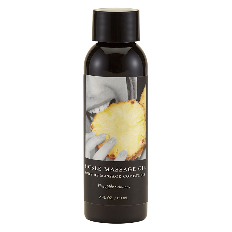 Earthly Body Massage Oil-Pineapple-2oz