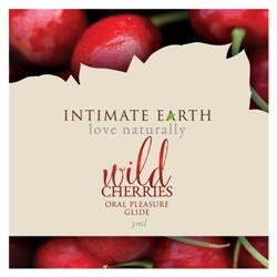 Intimate Earth Oral Pleasureglide-Wild Cherries