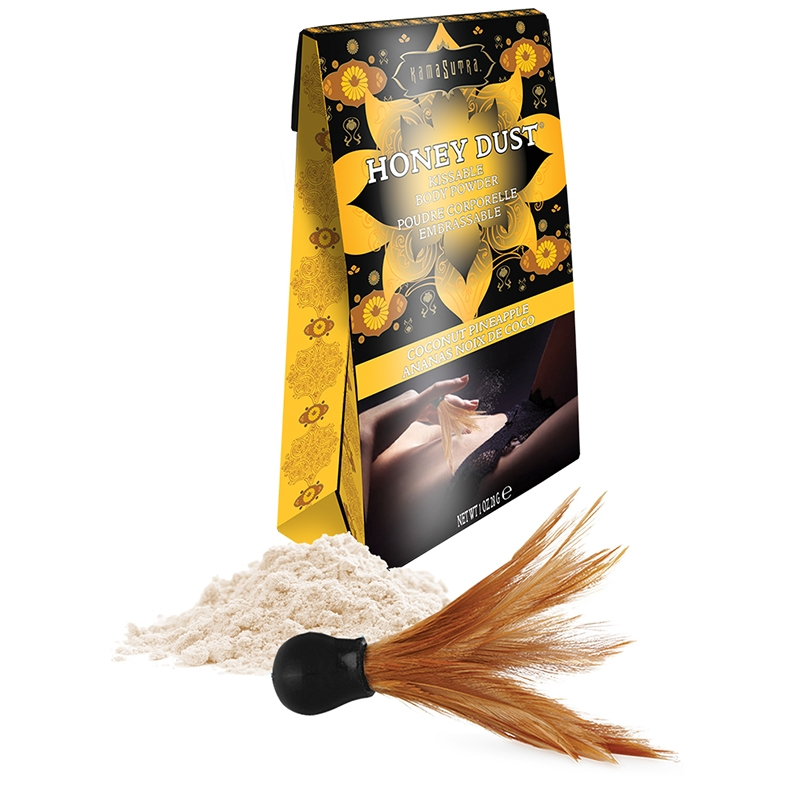 Kama Sutra Honey Dust-Coconut Pineapple-1 oz