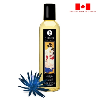 Shunga Erotic Masage Oil-Midnight Flower