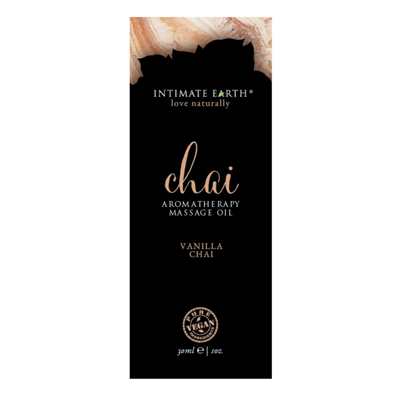 Intimate Earth Aromatherapy Massage Oil-Vanilla Chai-30ml