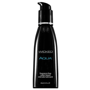 Wicked Aqua Sensual Care Fragrance Free 2oz