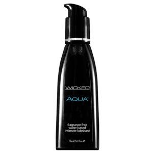 Wicked Aqua Fragrance Free Lubricant