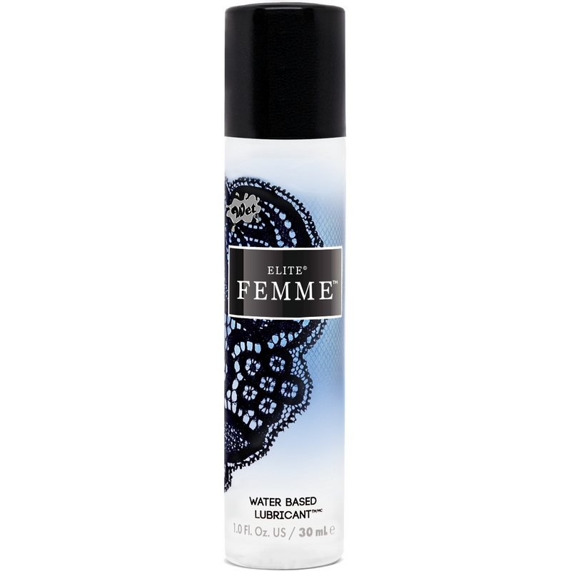 Wet Elite Femme Water-Based Lubricant-1 oz