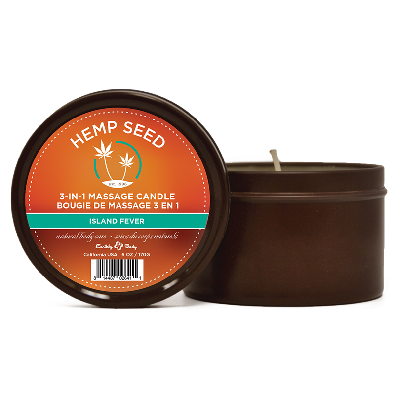 Earthly Body Massage Candle-Island Fever