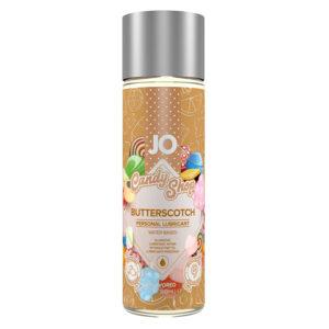 Jo H2O Candy Shop Flavoured Lubricant-Butterscotch-2oz