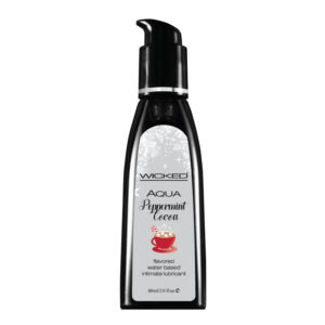 Wicked Peppermint Cocoa Lubricant-2 oz