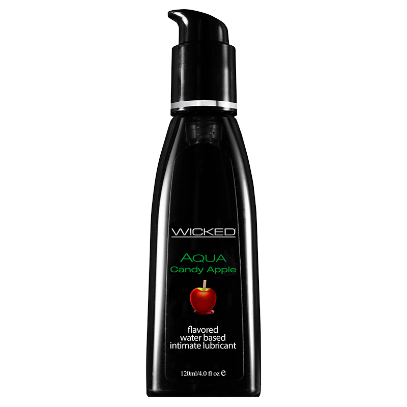 Wicked Candy Apple Lubricant-4 oz